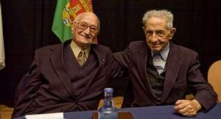Xornadas da Terra. Isaac Díaz Pardo y Avelino Pousa