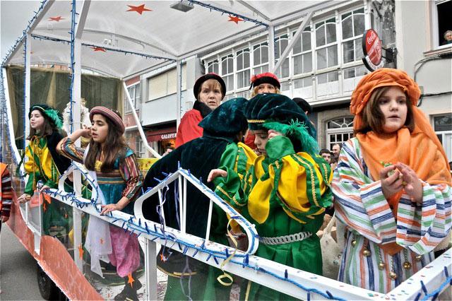 Cabalgata Reyes As Pontes 2012